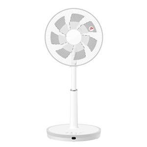 山善 扇風機 30cm リビング扇 マイコンスイッチ 風量4段階調節 静音モード DCモーター搭載 タイマー機能 リモコン付き メタリックシルバー|simpleplan