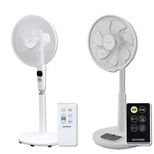 【セット販売】アイリスオーヤマ 扇風機 リビング扇風機 微風モード付 快眠モード付 リズム風付 タイマー付 リモコン付 風量12段階 DCモーター|simpleplan