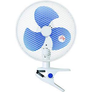 山善 扇風機 23cm クリップ式 卓上 スライドスイッチ 風量2段階切替 ホワイト YCS-D237(W)|simpleplan