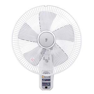 山善 扇風機 35cm 壁掛 マイコンスイッチ 風量4段階調節 入切タイマー機能 リモコン付き ホワイト YWX-K355(W)|simpleplan