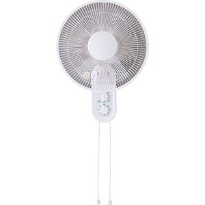 TEKNOS 扇風機 壁掛け 風量3段階 タイマー付 6枚羽 メカ式 2019年モデル KI-W289I|simpleplan
