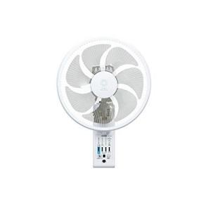 トヨトミ 壁掛け扇風機 リモコン式 人感センサー付 ホワイト FW-S30JR(W)|simpleplan