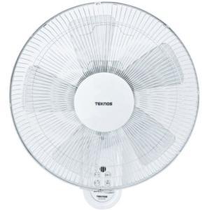 TEKNOS 40cm壁掛けフルリモコン扇風機 ホワイト KI-W478R simpleplan