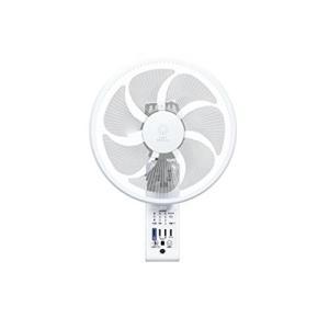 トヨトミ 壁掛け扇風機 人感センサー付 ホワイト FW-S30IR(W)|simpleplan