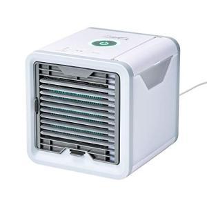 ここひえ 卓上扇風機 サーキュレーター パーソナルクーラー 冷風扇 冷風機 冷風 エアコン  USB扇風機 simpleplan