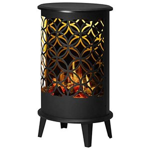 ディンプレックス 電気暖炉(暖房機能無し) セリーニ フラワーオブライフ ブラック CLN28FBJ|simpleplan
