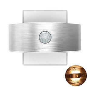TopYart- LED人感センサーライト USB充電式&電池式 壁掛け照明 自動点灯消灯 簡単取付 屋内 led壁灯 インテリア照明 階段・玄関・ simpleplan