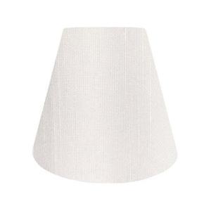 lamp-shade 【A-25140】アーム式シェード ホテルシェード ランプシェード交換用、電気スタンドの傘、照明 シャンタン ホワイト 直径2|simpleplan