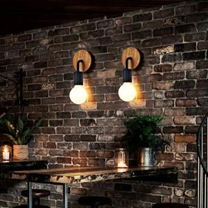 ASCELINAブラケットライト 壁取付ランプ 壁掛けフックにて固定 アンティーク調 北欧 レトロ おしゃれ ウォールライト インテリア照明 E26 simpleplan