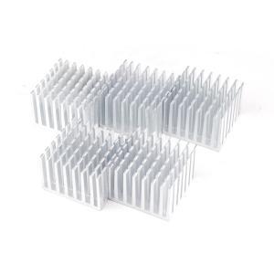 ヒートシンク 冷却 フィン アルミ製  放熱 DIY キューブ 正方形 1個 ポイント消化