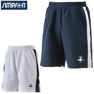 シンプソン Simpson テニスウェア メンズ  ハーフパンツ STW-01200|simpson-sports