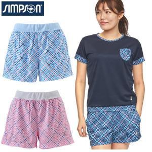 シンプソン Simpson テニスウェア レディース ショートパンツ STW-02201|simpson-sports