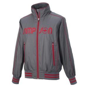 シンプソン Simpson テニスウェア レディース ウォームアップ ジャケット STW-31501L|simpson-sports