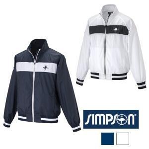 シンプソン (Simpson) STW-61500 テニスウェア メンズ レディース 兼用 ウォーム...