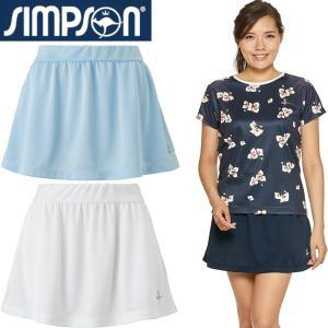 シンプソン テニスウェア レディース スカート STW-92200