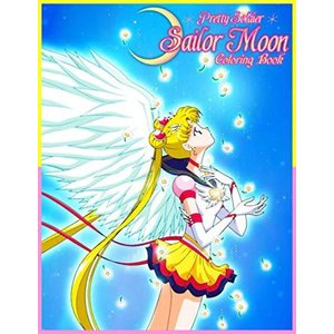 Pretty Soldier Sailor Moon Coloring Book: プリティソルジャ...