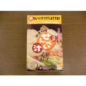 味の加久の屋八戸せんべい汁セット|sinbori9321