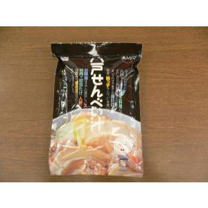 味の海翁堂せんべい汁具入りセット|sinbori9321
