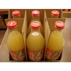 シャイニー青森完熟林檎ジュース(ストレート果汁100%) sinbori9321