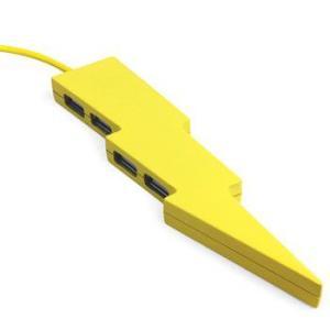 おもしろ 雑貨 USBポート USBハブ USB BOLT HUB  KIKKERLAND|sincere-inc