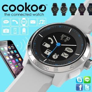 cookoo2 スマートウォッチ iPhone アンドロイド 対応  防水 Xperia 腕時計|sincere-inc