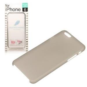iPhone ケース iPhone6 ケース HARD フェザーケース ハードケース  アイフォン カバー ケース 4.7inc メール便OK|sincere-inc