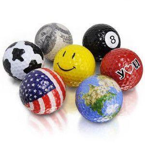 おもしろ 雑貨 デザインゴルフボール GOLF BALL おもしろ雑貨 sincere-inc
