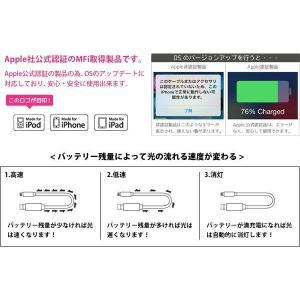 おもしろ 雑貨 イルミネーションケーブル iPhone Lightningケーブル メール便OK|sincere-inc|03