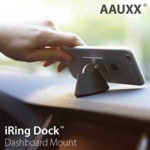 正規品 iRingDock アイリングドック AAUXX  iPhone スマホ スタンド 車載ホルダー  車載スタンド リング 落下防止|sincere-inc