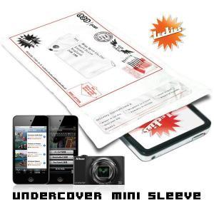 おもしろ 雑貨 iPod iPhone デジカメなどガジェットの収納 Undercover mini slleeve メール便OK|sincere-inc
