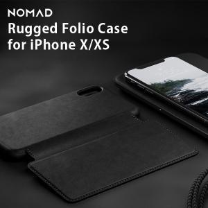 iPhone Xケース iPhone XSケース NOMAD ノマド  NMD-020 レザー ラゲッジフォリオケース 手帳型 カード収納 本革  メール便OK|sincere-inc