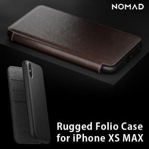iPhone XS Max ケース NOMAD ノマド  NMD-021 レザー ラゲッジフォリオケース 手帳型 カード収納 本革  メール便OK|sincere-inc