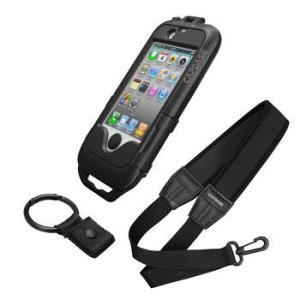 スマートフォン 簡易防水 iPhone4/4Sケース ネックストラップ付 CAPDASE PWIH4S-PC01 sincere-inc