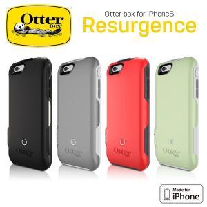 OtterBox Resurgence 耐落下バッテリーケース for iPhone 6 充電 2,600mAh 急速充電 メール便OK|sincere-inc