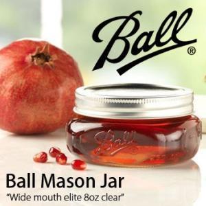 1858年にアメリカで生まれ、100年以上の歴史を持つBall社の密閉瓶「メイソンジャー」。 ガラス...