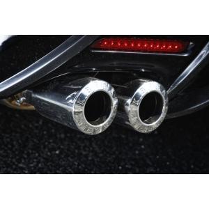K-BREAK ケイブレイク レクサス 中期 LS460 トレゾアマフラー 4本出し 白銀 ハイパーゼロカスタムGT HYPER ZERO CUSTOM GT