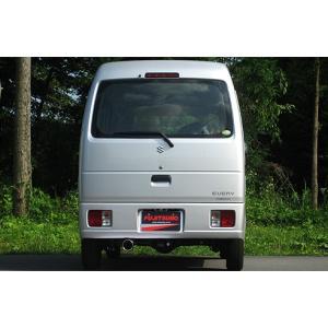 フジツボ エブリィ EBD GBD-DA64V マフラー AUTHORIZE K オーソライズK FUJITSUBO 750-80412