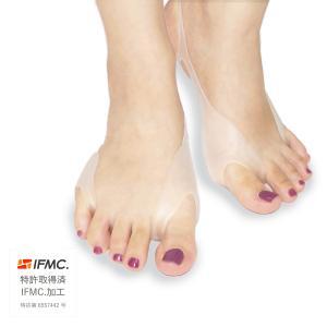 素材:肌に柔らかくフィットする、シリカゲルです。 親指・小指矯正:親指側面、小指側面をサポート、かか...
