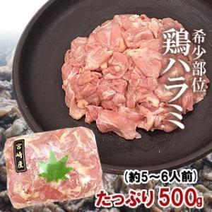 宮崎県産 若鶏 ハラミ500g 焼肉 バーベキュー BBQ singaki-meat