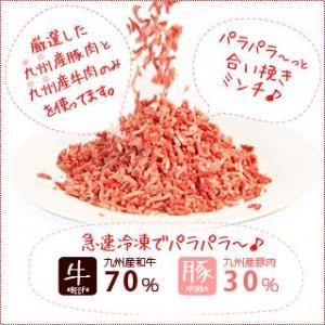 パラパラ 〜っと 九州産 『合挽きミンチ』600g|singaki-meat