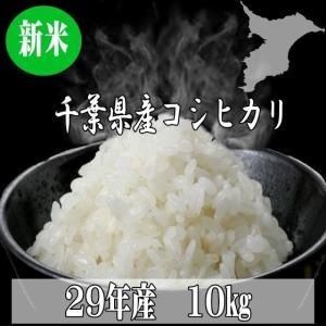 送料無料 29年 新米 千葉県産 コシヒカリ 10kg ...