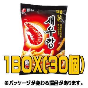 『農心(ノンシム)』辛いセウカン(■BOX 30入) <韓国お菓子・韓国スナック> sinnara