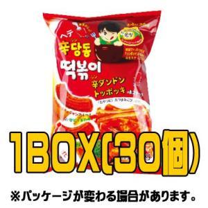 『ヘテ』トッポキスナック(■BOX 30入) <韓国お菓子・韓国スナック> sinnara
