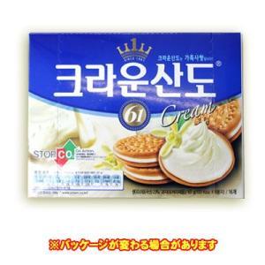 『クラウン』クラウンサンド(クリーム) <韓国お菓子・韓国スナック> sinnara