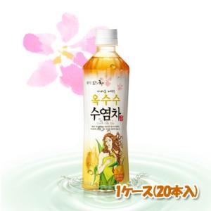 『ロッテ』とうもろこしのひげ茶(ペット) 500ml(■BOX 20入) <韓国伝統茶・韓国健康茶・韓国ドリンク・韓国ジュース> sinnara