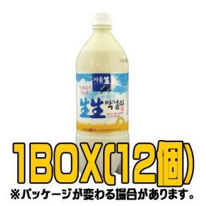 ソウル生生マッコリ 950ml(■BOX 12入)<韓国どぶろく>|sinnara