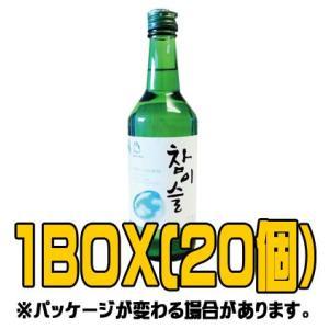 『眞露(ジンロ)』チャミスル 360ml日本版(■BOX 20入) <韓国焼酎>|sinnara