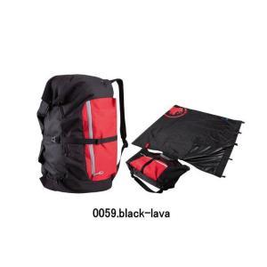 【送料無料】MAMMUT/マムート Relaxation Rope Bag(リラクゼーションロープバッグ)/2290-00940【ハンモック】【50-80mロープ】【登山ロープ】【クライミング】|sinsetsusou