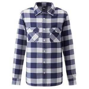 【送料無料】HELLY HANSEN/ヘリーハンセン ロングスリーブサーモライトシャツ/HO41561【メンズ】【アウトドアシャツ】|sinsetsusou