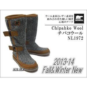 SOREL/ソレル Chipahko Wool(チパコウール)/NL1972【ウィメンズ】【ブーツ】|sinsetsusou